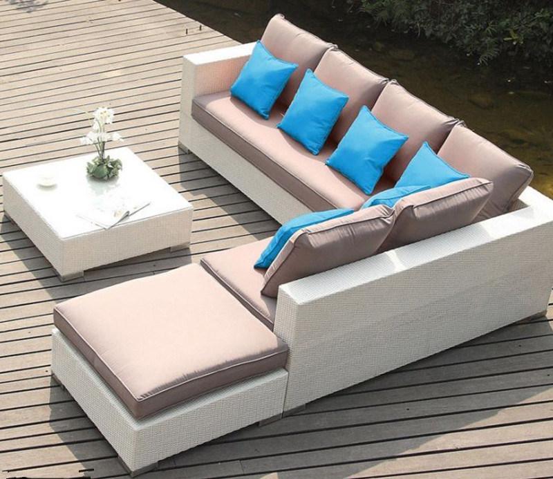 Circular Outdoor Sofa Garden Sofa Wicker Furniture Rattan Sofa Outdoor Furniture S229