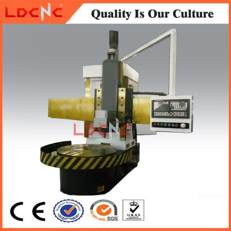 Single Column Precision CNC Vertical Turning Metal Lathe Machine Price