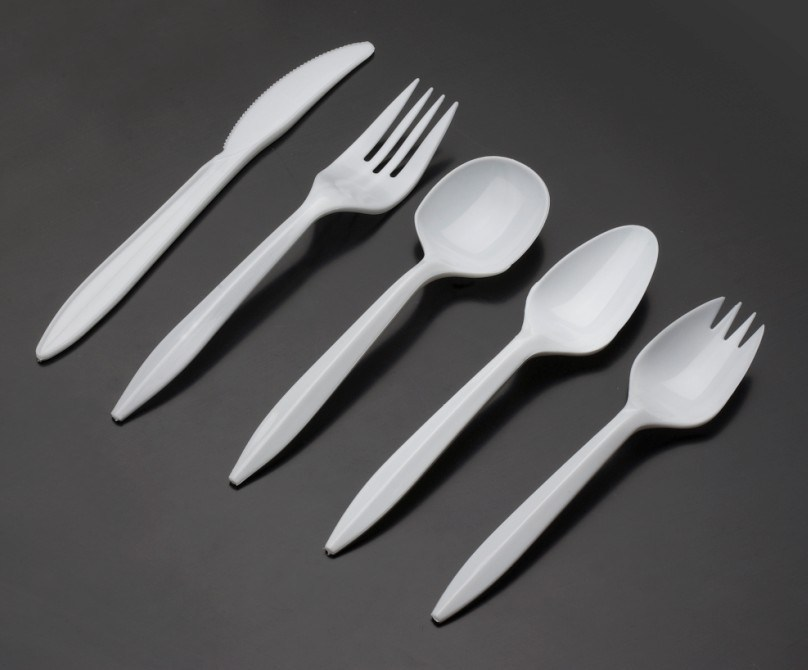 Wholesale PP Disposable Plastic Cutlery for Hotel Fast Food Airline