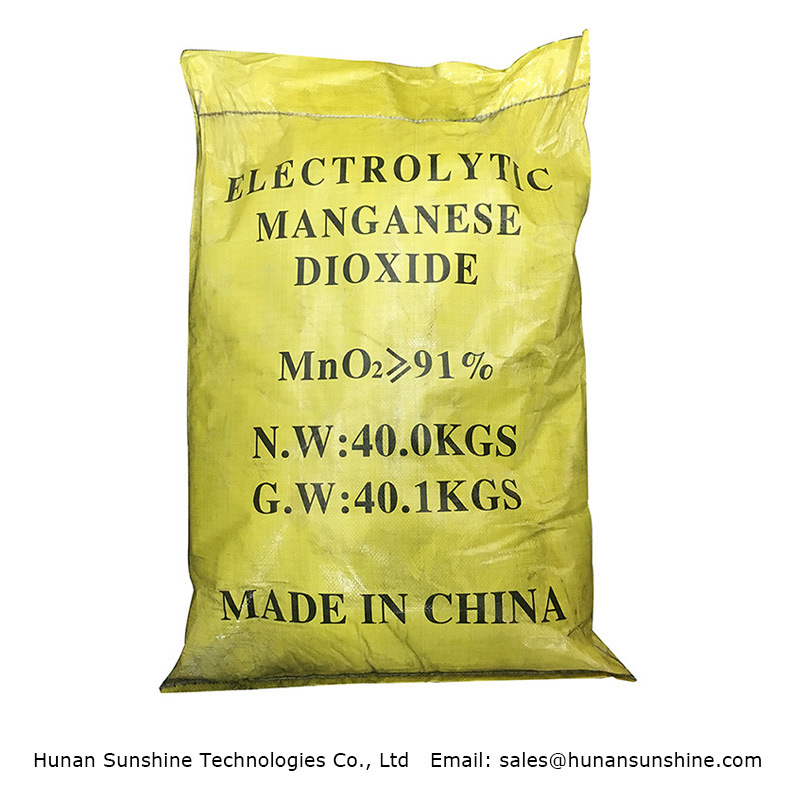 Emd Electrolytic Manganese Dioxide for Alkaline Battery Use