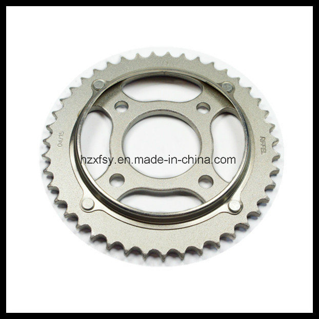 Front and Rear Motorcycle Chain Sprocket Kit