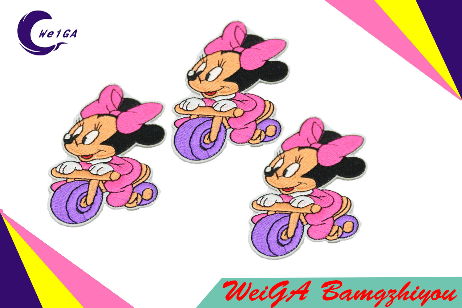 Factory Customize Various Styles of High Quality Embroidery Patch