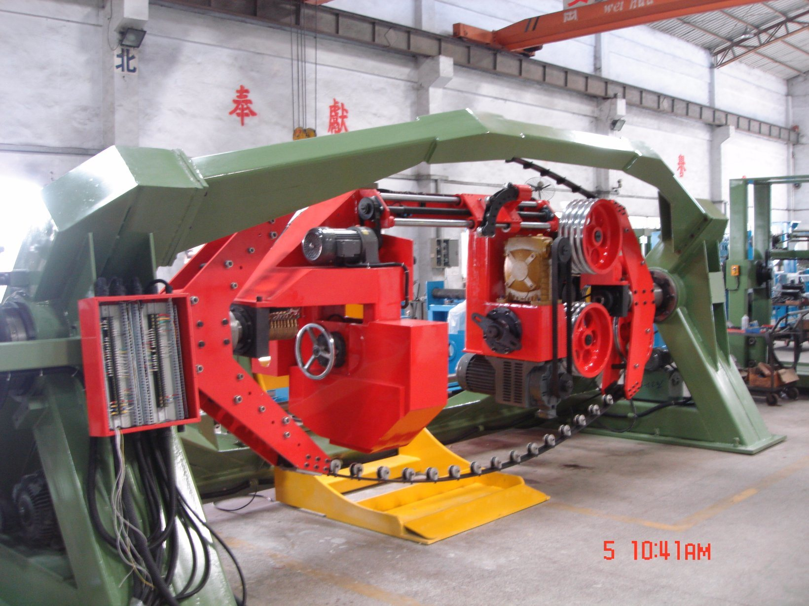 1250mm Double Twist Cable Stranding Machine