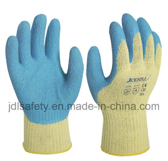 Heat Protective Work Glove with Latex Coating (LK3022)