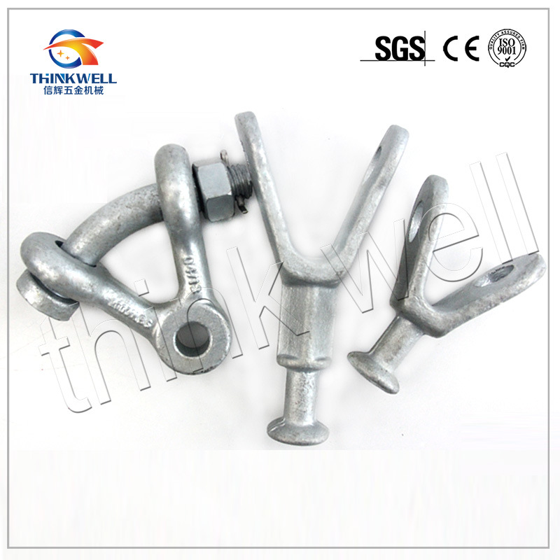 Forged Transmission Line Hardware Y Ball Clevis