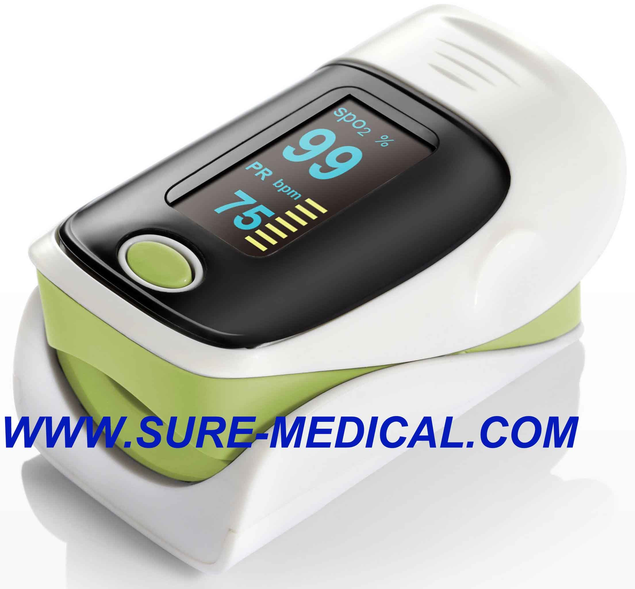 Hot Sale Fingertip Pulse Oximeter with CE, FDA Approved