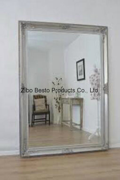 Free Standing Wooden Wall Mirror