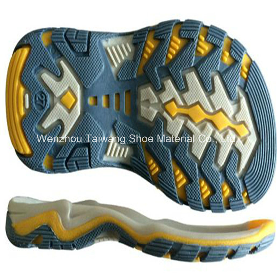 Four Color TPR Sole for Shoe