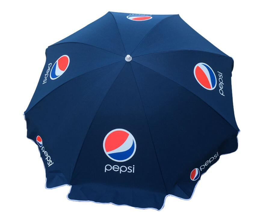 Advertisement UV Anti 210d Polyester Beach Umbrella 48inch