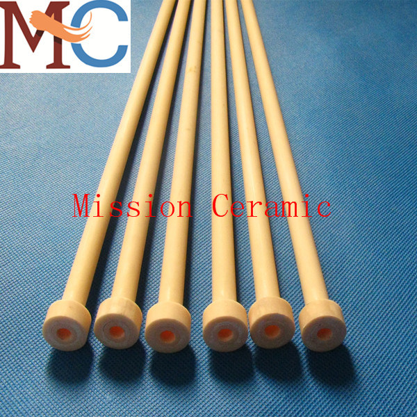 99.7% Al2O3 Thermocouple Sheath/Ceramic Tube