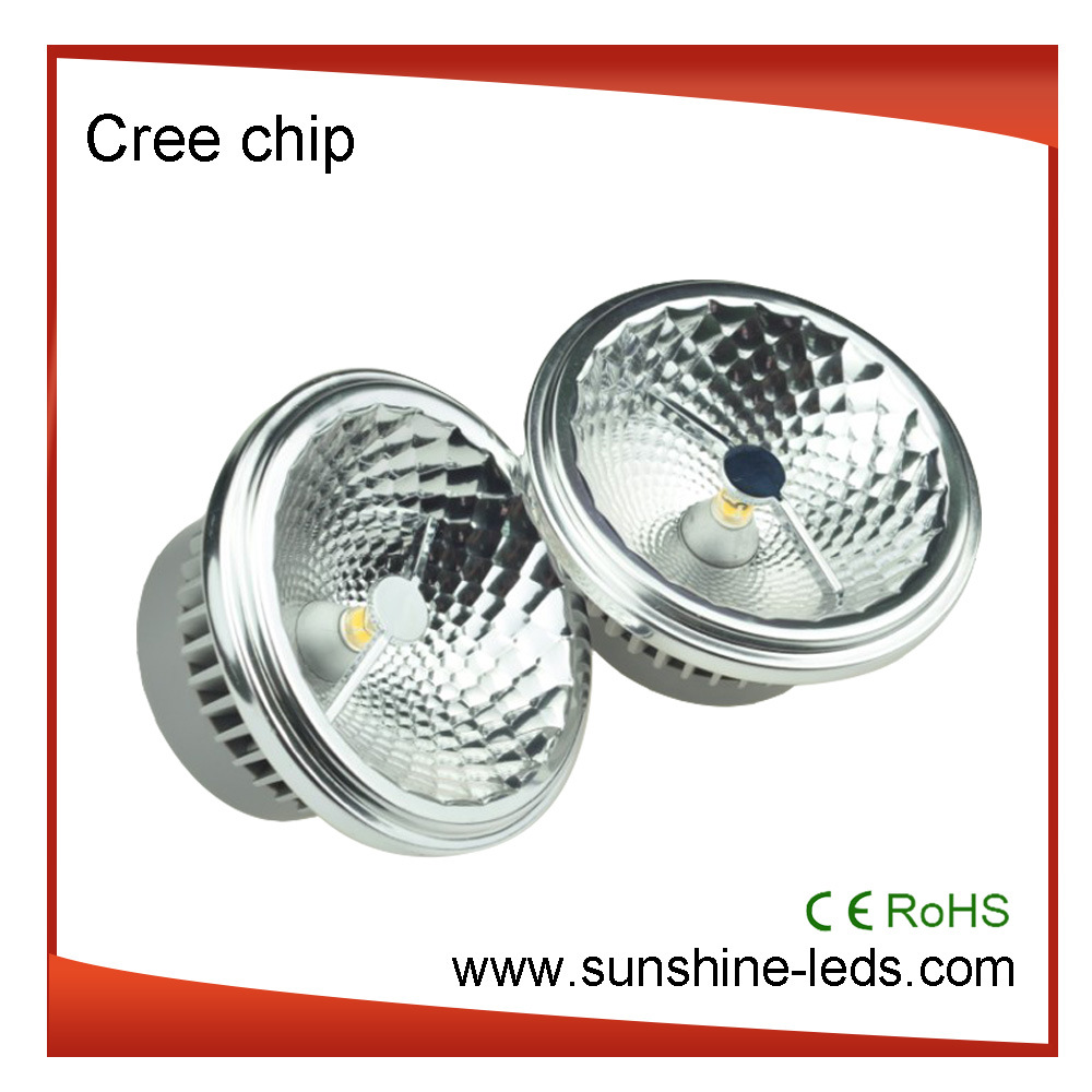 Dimmable G53/GU10 COB AR111 12W LED Spot Light
