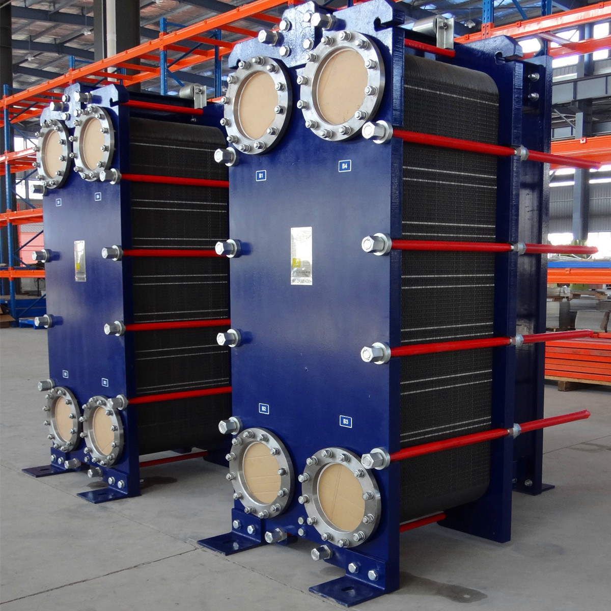 Water/Oil/Beer/Milk Cooling Stainless Steel, Titanium Gasketed Plate Heat Exchanger