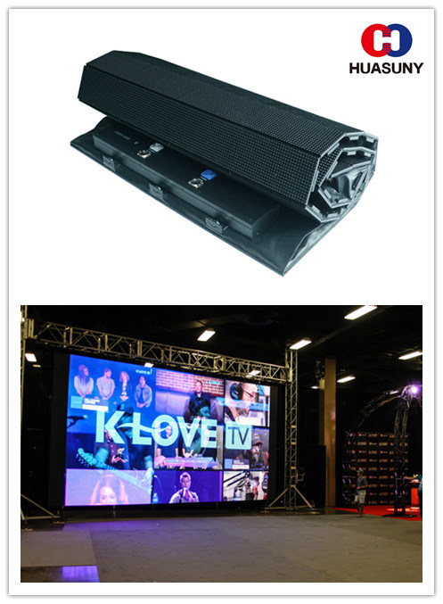 HD Quality Flexible LED Display for TV Show, Stage