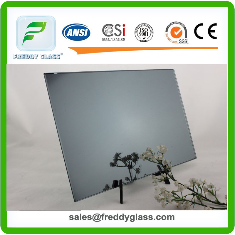 1.5mm-6mm Dark Grey Tinted Aluminum Mirror