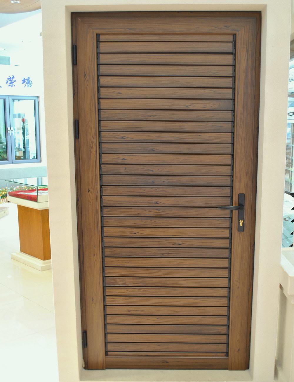 Aluminum Louvered Doors : China aluminium door window profile