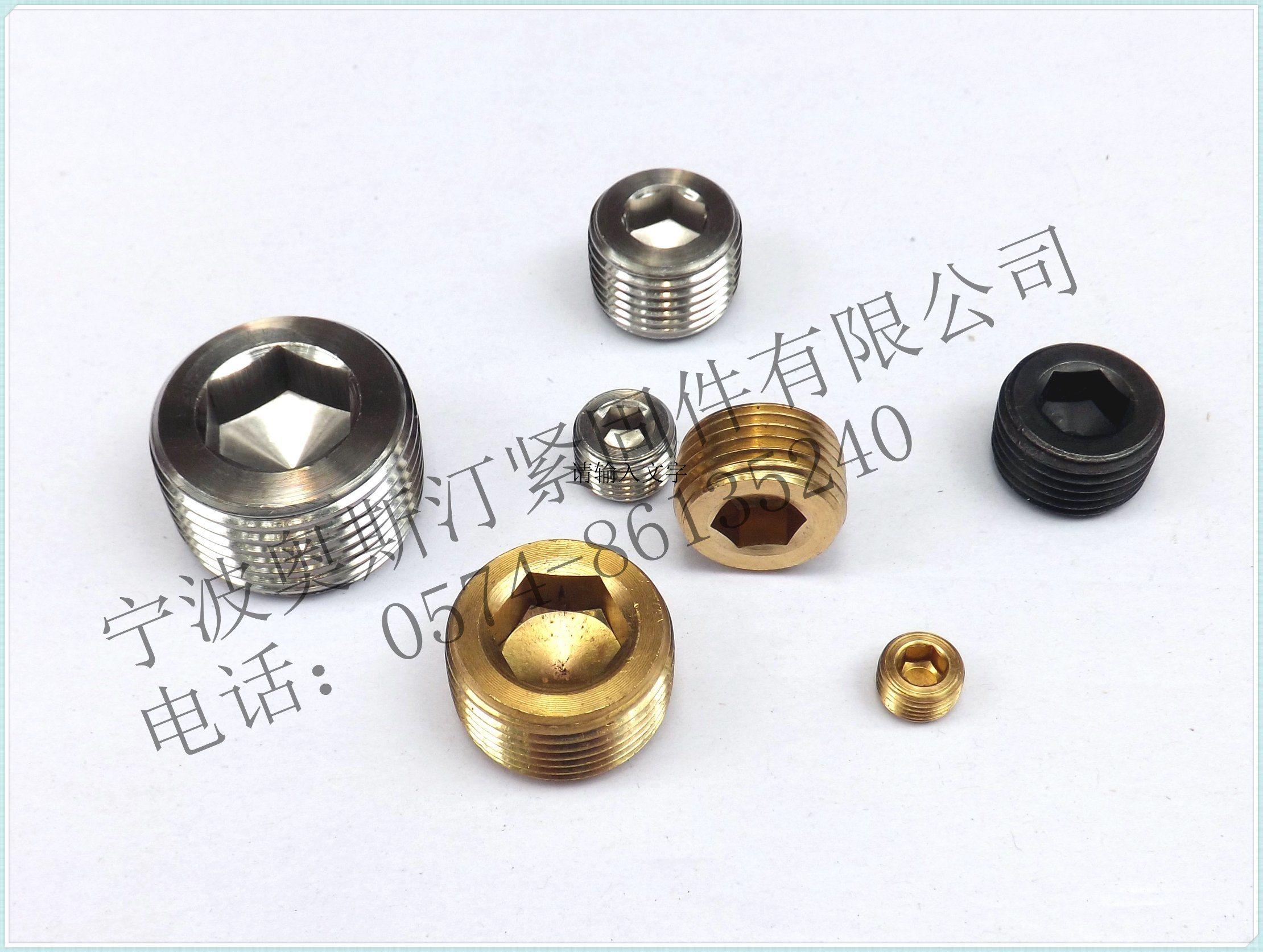 DIN906 Hex Socket Pipe Plugs Screw