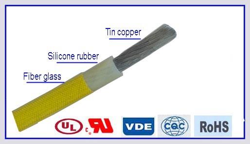 High Temperature Resistant Silicone Rubber Install Wire