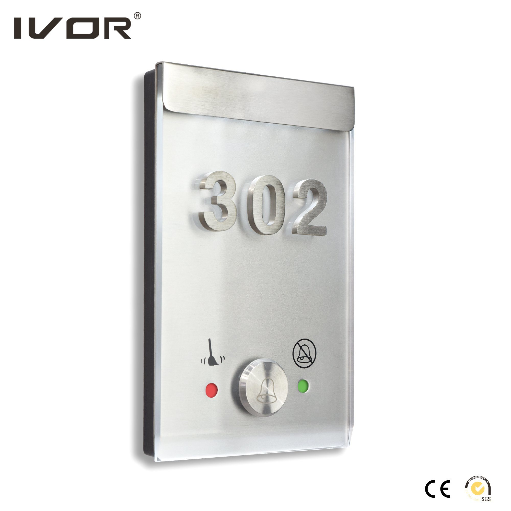 Ivor Hotel Dnd Doorbell Switch / Do Not Disturb Doorbell System with Room Number