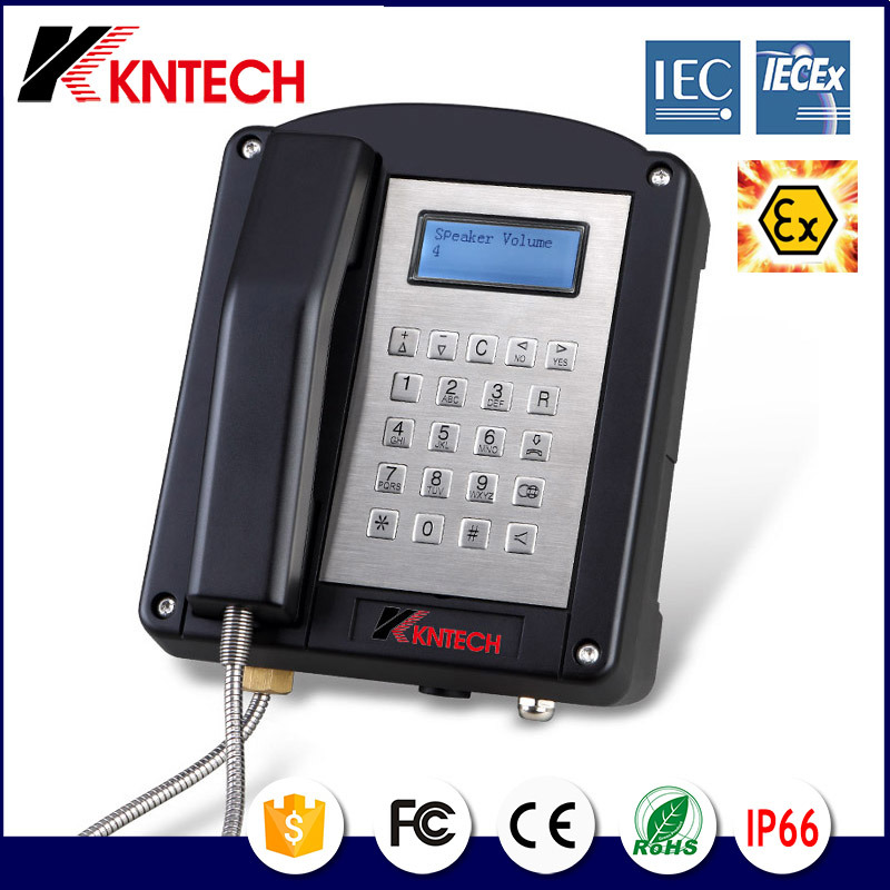 Explostion-Proof Telephone for Industrial Coal Mine Knex1 Iecex Certified Exproof