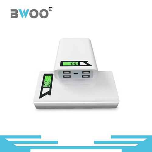 Wholesale LED Digital Display Power Bank with 4 USB Ports