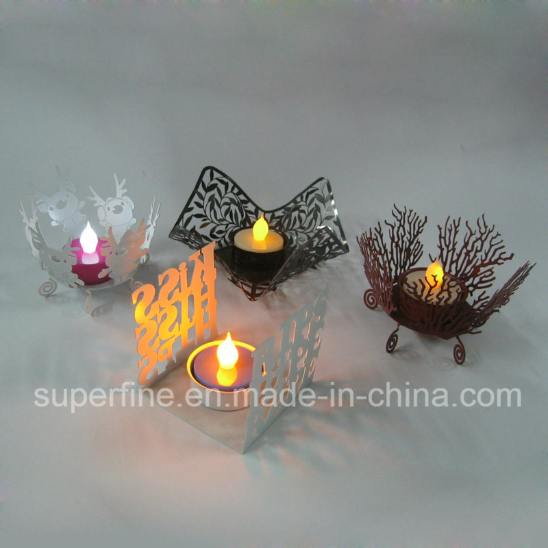 Battery Operated Christmas Decorative Luminary Pillar LED Artificial Flameless Tealights