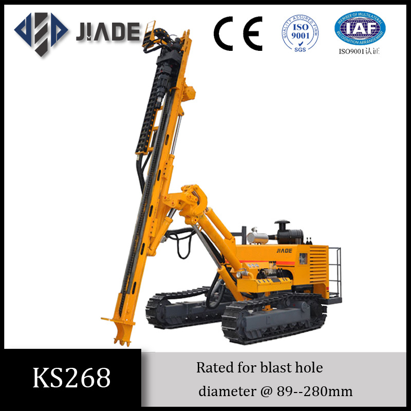 Ks268 All-Hydraulic Tracked Mining Drill