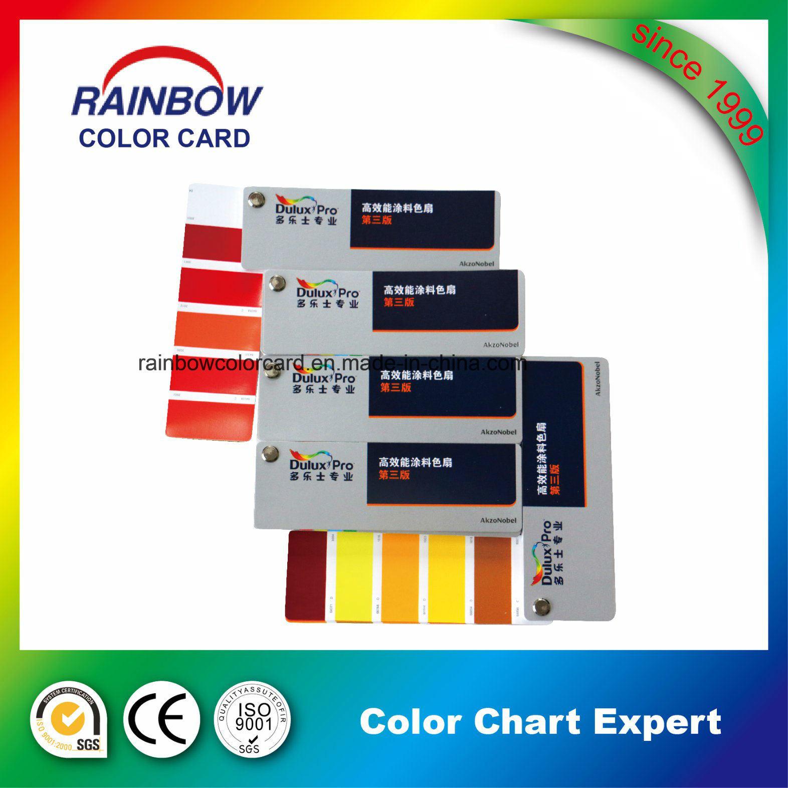 Professional Standard Wall Paint Fandeck Card
