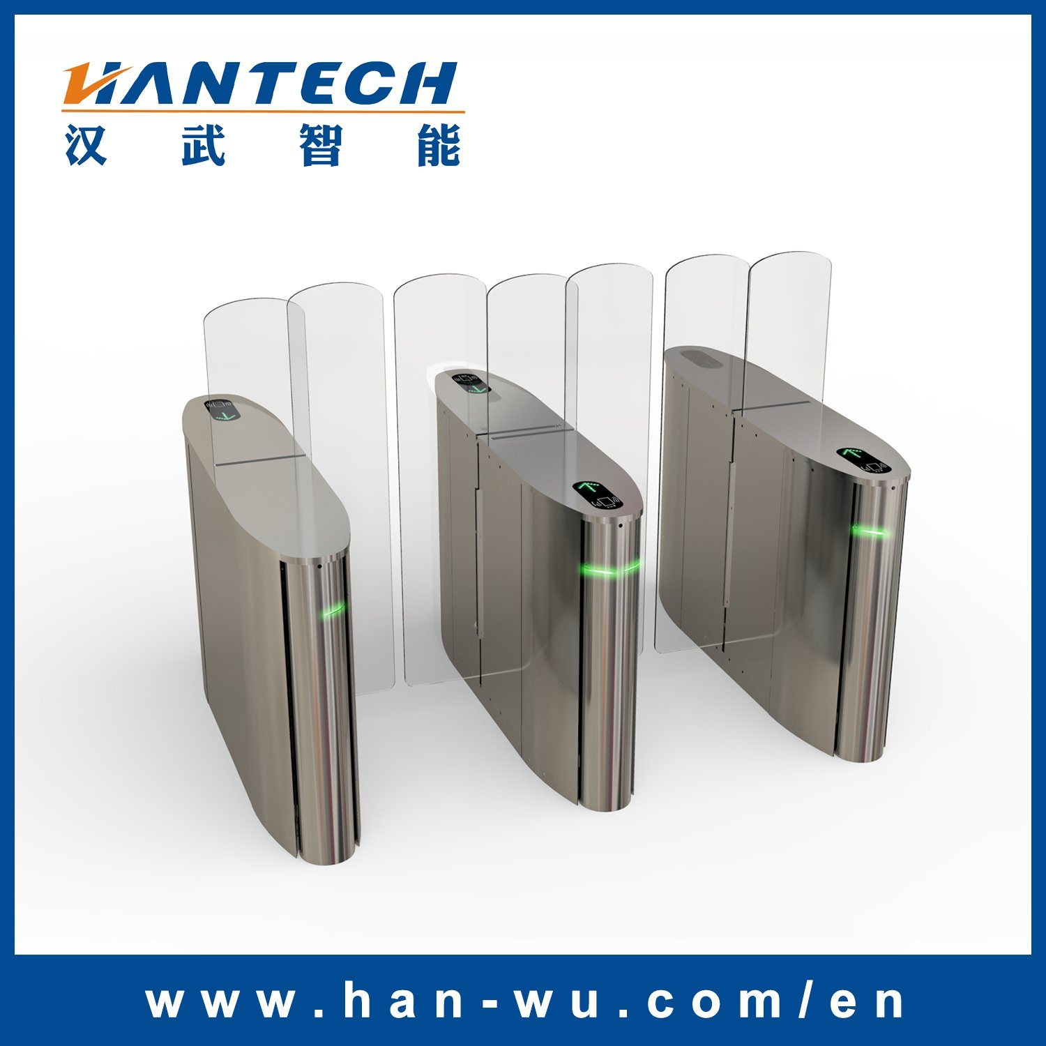 Automatic Sliding Gate Barrier with Time Attendance System