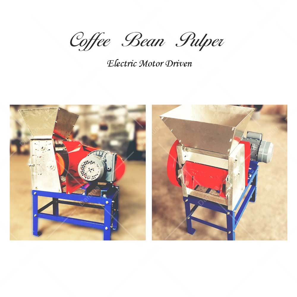 1.5kw Motor - Cherry Coffee Bean Huller / Pulper Machine (BP-120#)