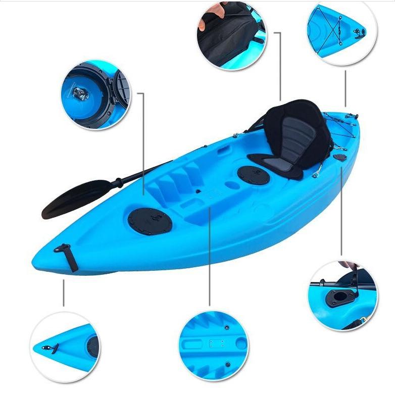 One Paddler Canoe Kayak for Rafting
