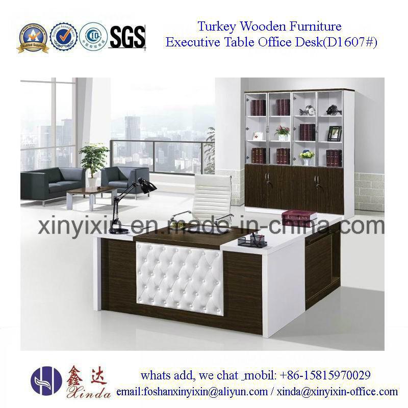 European Design Office Desk Modern Wood Office Furniture (M2602#)