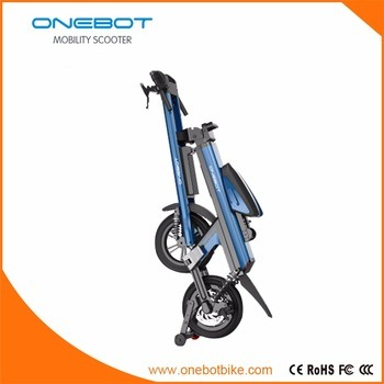Professional Bicycle Folding Electric Scooter with Double Panasonic Battery