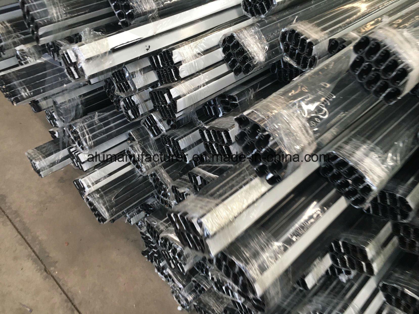 Tanzania Aluminium Alloy Extrusion Profile for Door and Window
