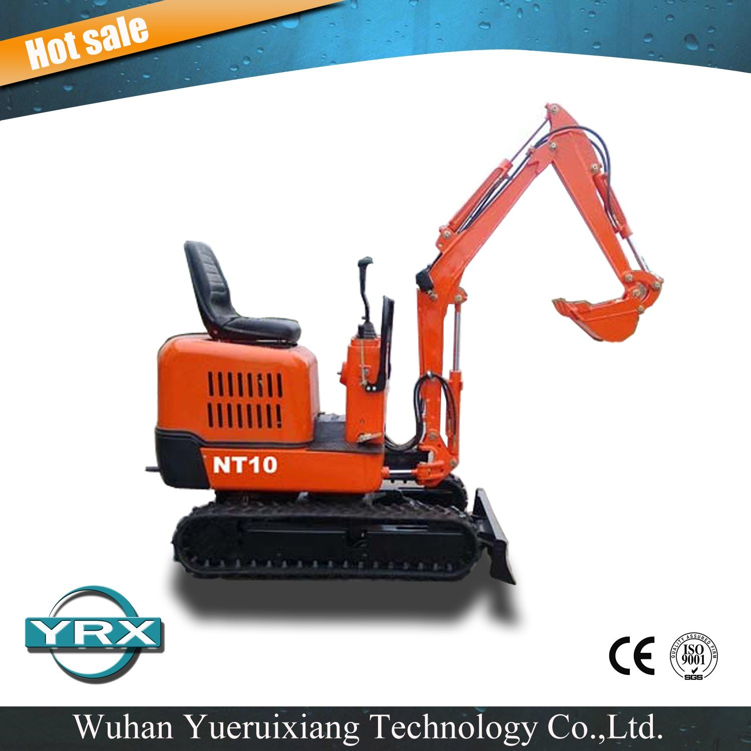 Ce Approved 1000kg Nt10 Mini Excavator for Sale