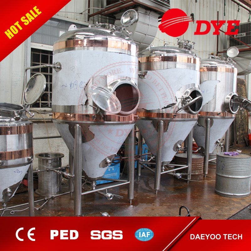 Made in China Beer Equipment Tank, Industrial Stainless Steel Conical Fermentor