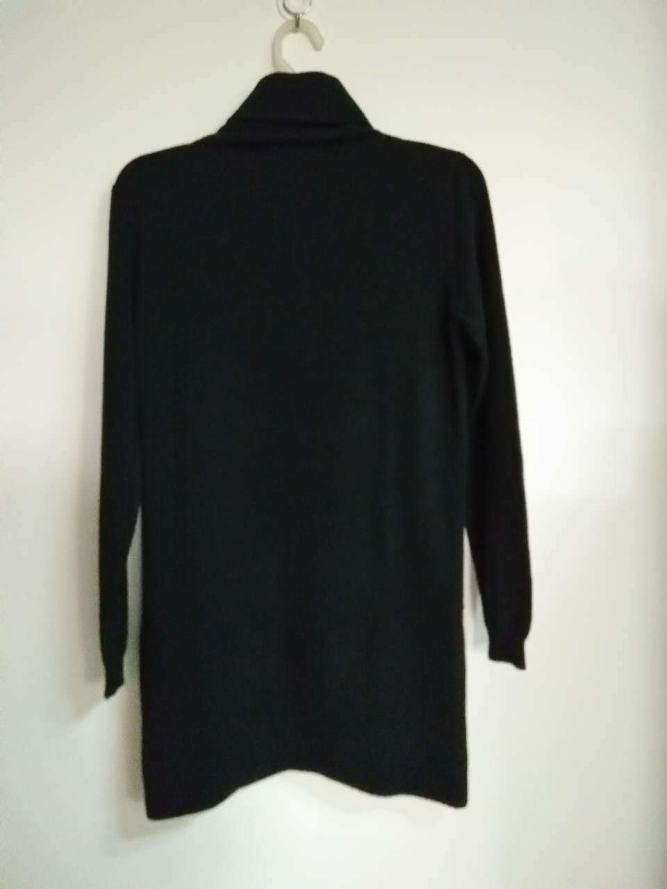 Trj016, 100%Cashmere, Black, Women&Lady, Good Quality, Sweater
