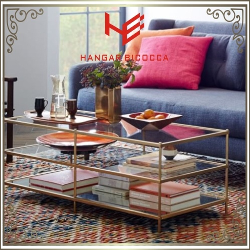 Tea Table (RS161004) Corner Table Stainless Steel Furniture Table Console Table Home Furniture Hotel Furniture Modern Furniture Table Coffee Table Side Table