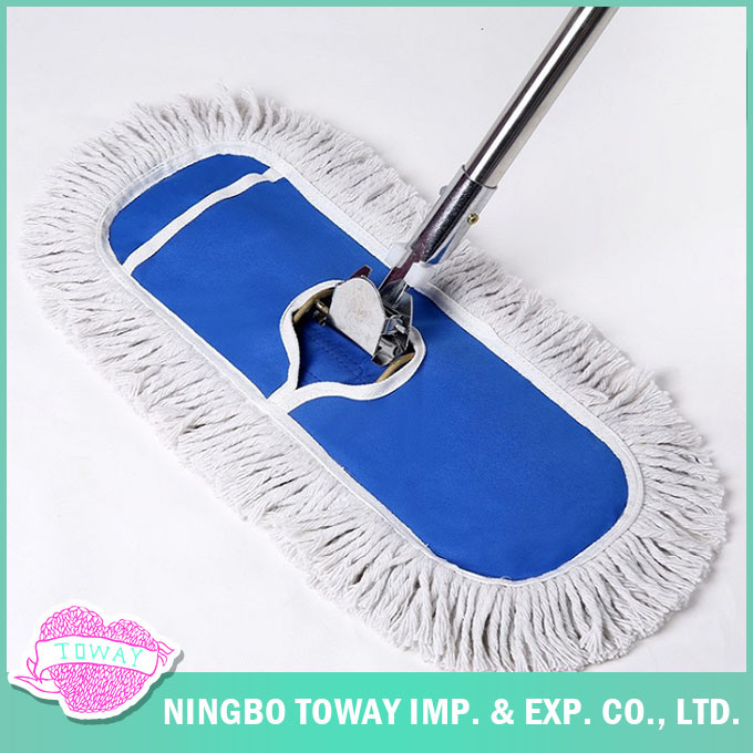 Large Size Microfiber Floor Cleaning Flat Industrial Mop