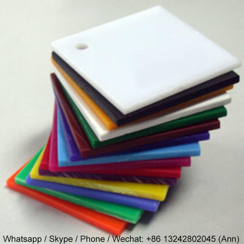 Colorful Extruded Plexiglass Acrylic Sheet