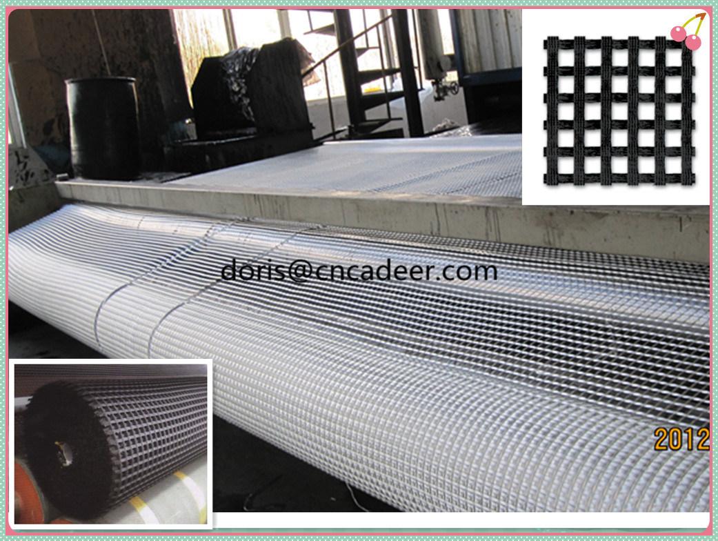 Plastic Polypropylene PP HDPE Pet Polyester Fiberglass Biaxial Uniaxial Geogrids