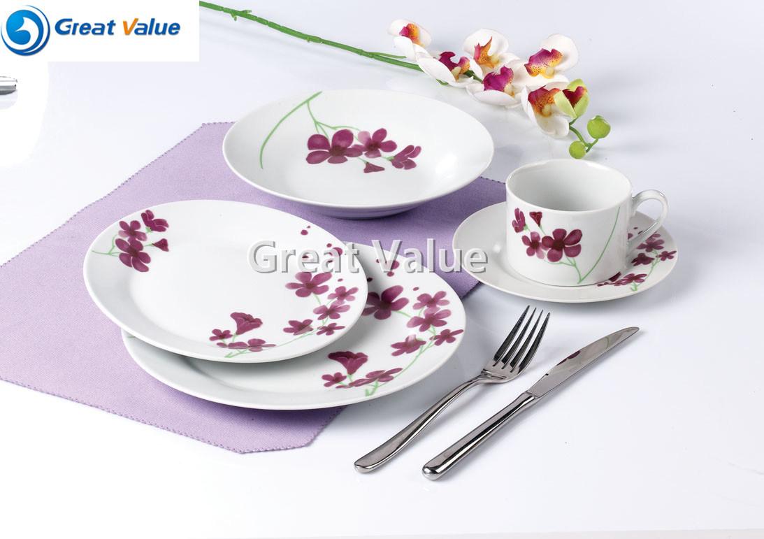 20PCS Ceramic porcelain Dinner Set Luxry