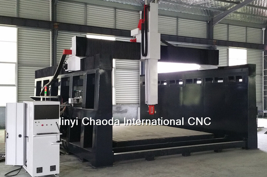 5 Axis CNC Machine, 5 Axis CNC Router for Large 3D Mould Sculptures Making