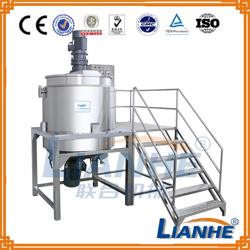 Ce Approved Liquid Soap/Shampoo/Detergent/Lotion Making Mixing Machine