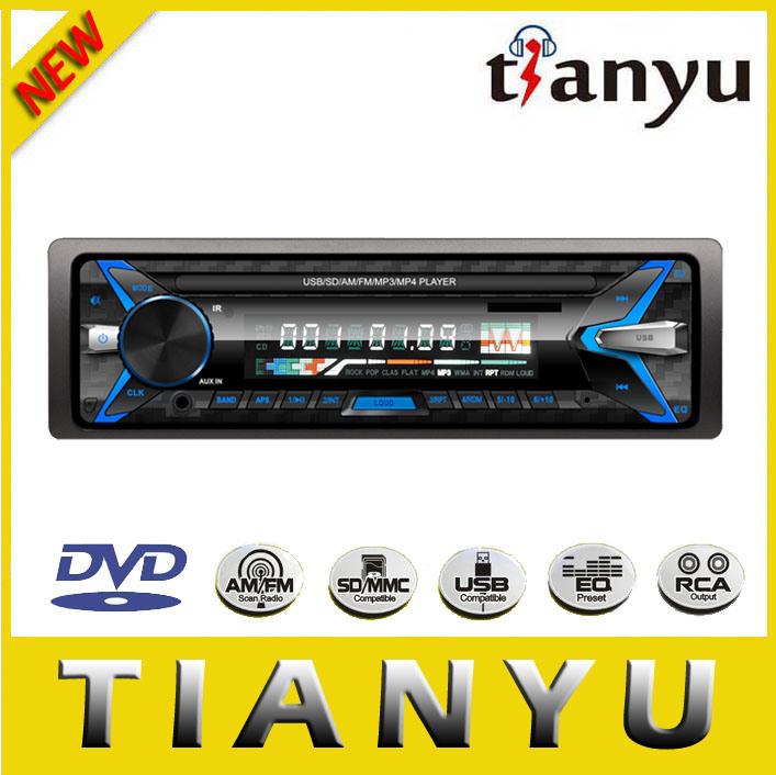 Detachable Single DIN Car Audio Car Amplifier Car MP3 USB SD FM Player Car Radio