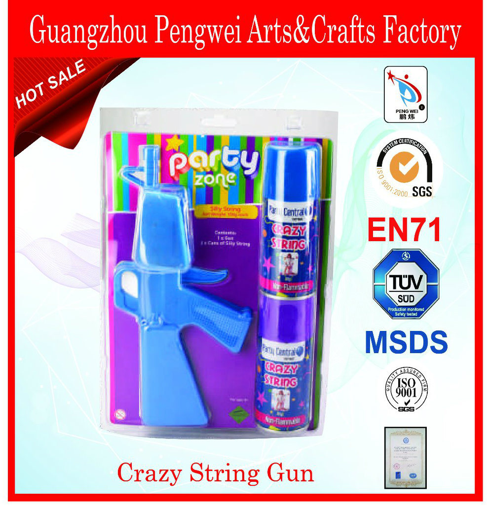 Party Silly String with Gun Shooter