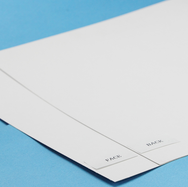 Coated Duplex Cardboard with White Back