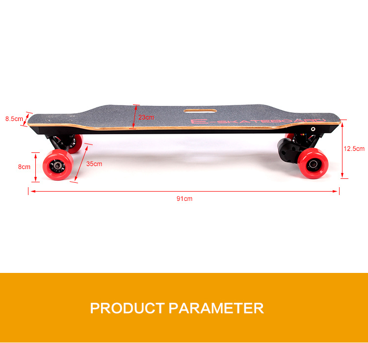 Germany USA Warehouse Stock 40km/H High Speed Skateboard with UL Charger