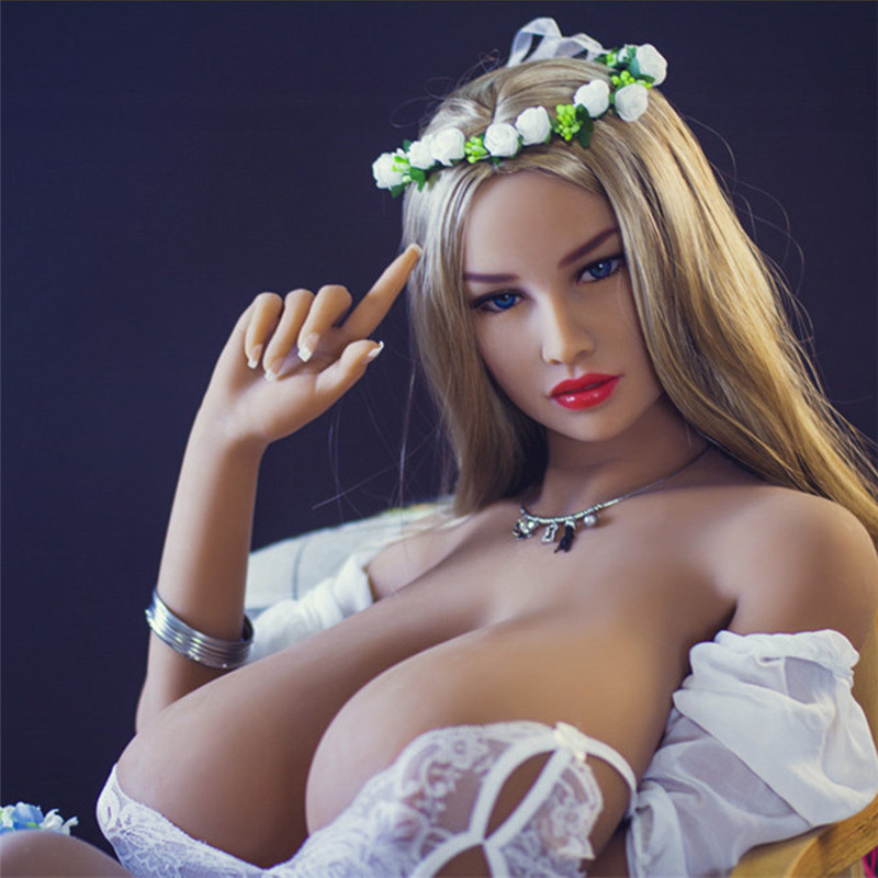 Huge Breast Sex Doll 156cm Full Silicone Sex Doll for Male