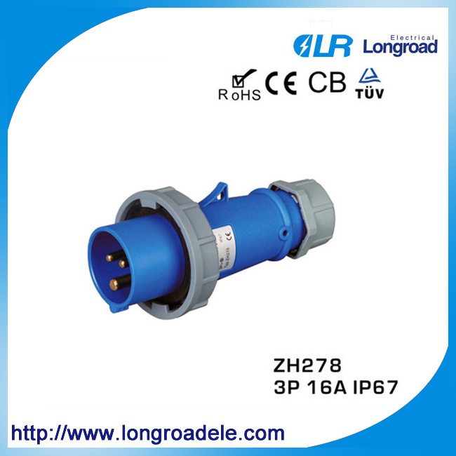 IP67 16A Male and Female Industrial Plug and Socket