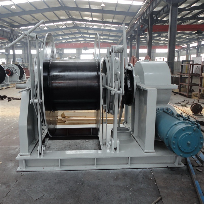 Single Drum Electric Mooring Winch